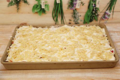 Pampered Chef Apfelkuchen vor dem Backen