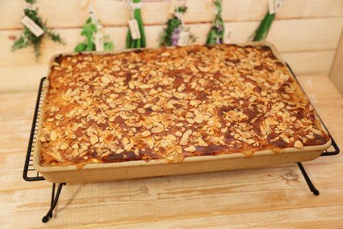 Pampered Chef Apfelkuchen im großen Ofenzauberer