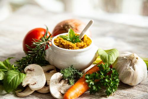 Thermomix Gewürzpaste für Gemüsebrühe