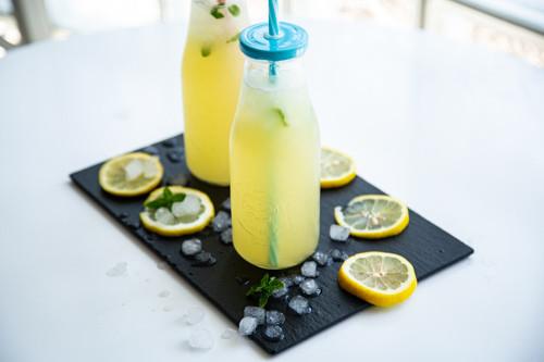 Thermomix Zitrone-Minz-Limonade