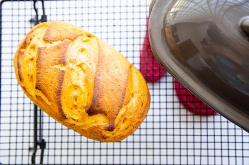 Thermomix Tomatenbrot auf Kuchengitter