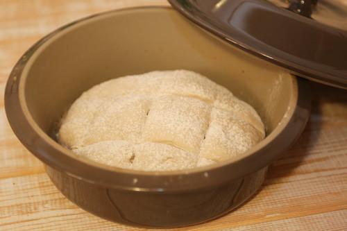 Pampered Chef Weizen-Joghurt-Brot Teigling runder Zaubermeister