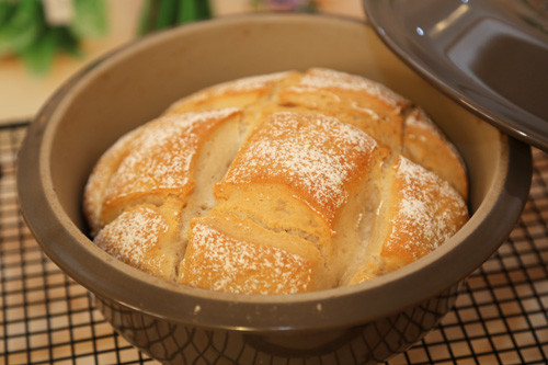 Pampered Chef Weizen-Joghurt-Brot runder Zaubermeister
