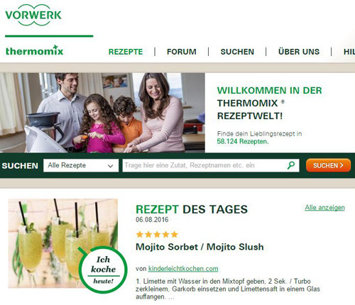 Thermomix Mojito Rezept des Tages