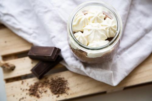 Thermomix Schokoladenpudding von oben