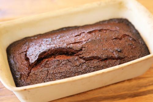 Zauberkasten Schokoladenkuchen in der Form
