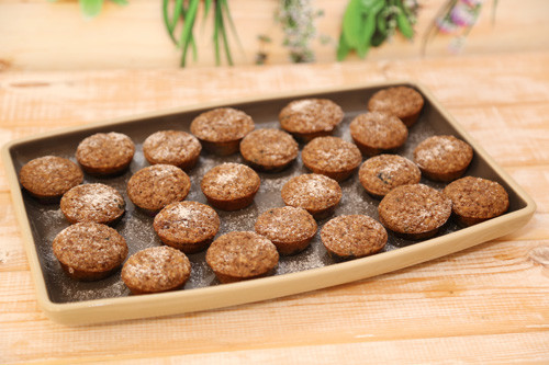 Mandel-Kokos-Muffins aus der Mini-Muffinform-Deluxe