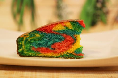 Der Hit Auf Jedem Kindergeburtstag Regenbogenkuchen Mit Dem Thermomix