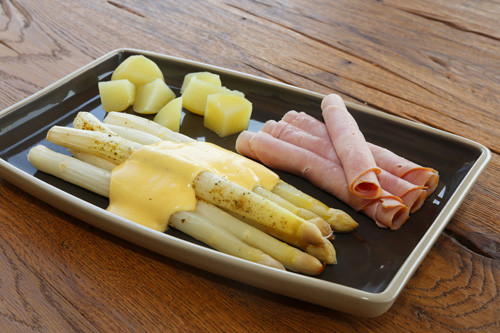 Pampered Chef Ofenmeister Spargel