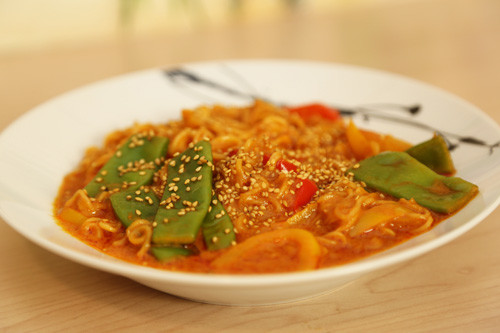 Thermomix Thai-Curry Nudeln