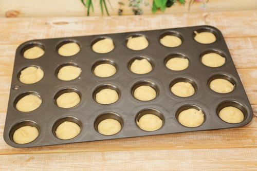 Pampered Chef Vanille-Muffins Teig
