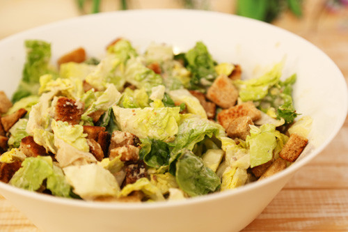 Thermomix Caesar Salad
