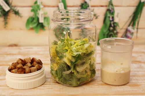Pampered Chef Make&Take mit Caesar Salad