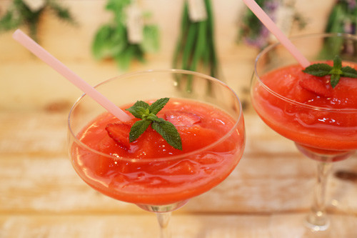 Thermomix Erdbeer-Daiquiri