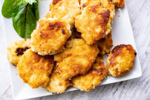 Thermomix Chicken Nuggets angeschnitten