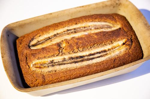 Pampered Chef Zauberkasten Bananenbrot fertig