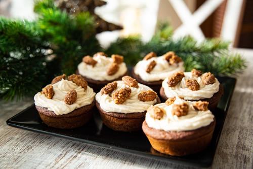 Pampered Chef weihnachtliche Schokomuffins