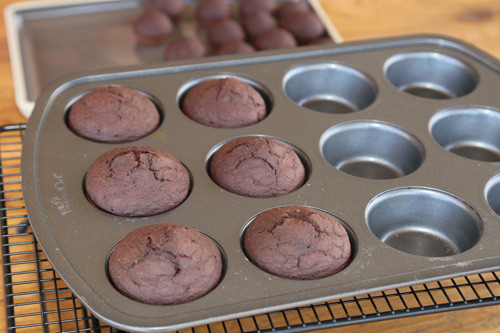 Pampered Chef vegane Schoko-Muffins in Muffinform Deluxe