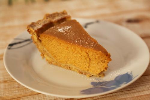 Pumpkin Pie Kurbiskuchen In Der Pieform Von Pampered Chef