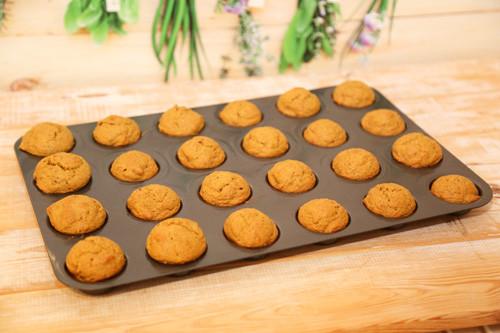 Pampered Chef vegane Möhren-Muffins in der Muffin-Form Deluxe