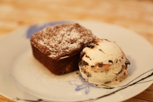 Pampered Chef Brownies mit Eis
