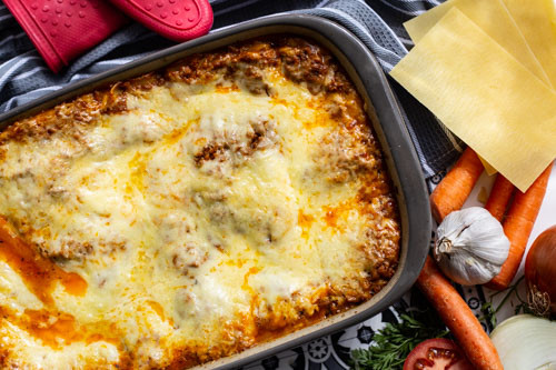 Pampered Chef Lasagne Ofenhexe
