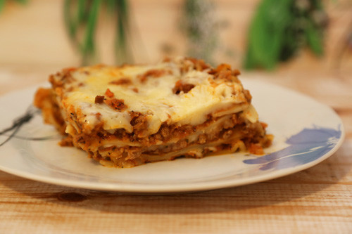 Pampered Chef Lasagne Stück