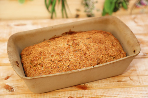 Thermomix low-carb Brot im Zauberkasten fertig
