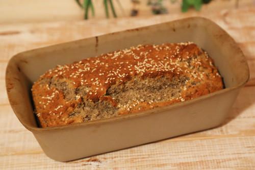 Pampered Chef Zauberkasten Buchweizen Körner Brot fertig