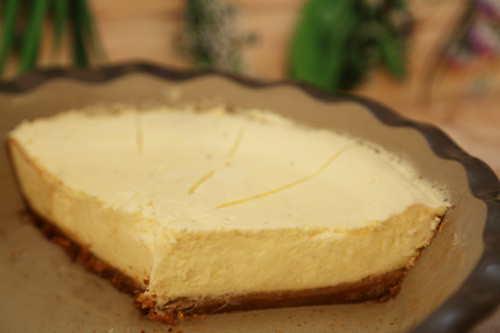 Pampered Chef Cheesecake