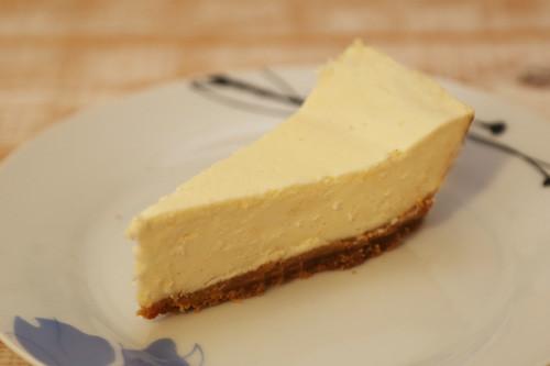 Pampered Chef Cheesecake Stück