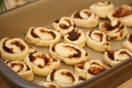 Cinnamon Rolls frisch in Ofenhexe