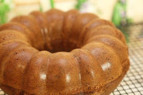 Pampered Chef Kranzform Rotweinkuchen auf Kuchengitter