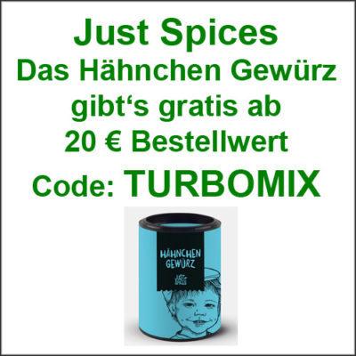Just Spices Hähnchen