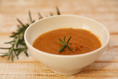 Thermomix veganer Linsen-Tomaten-Aufstrich