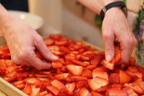 Pampered Chef Ofenzauberer Erdbeeren