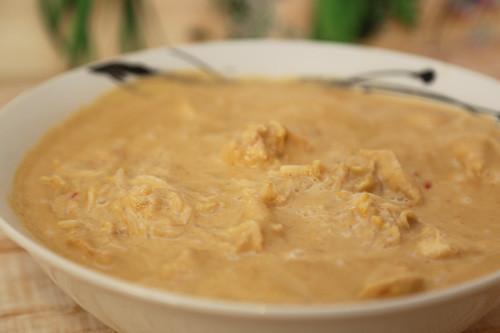 Thermomix Reis Hähnchen Sojasprossen Erdnusssauce