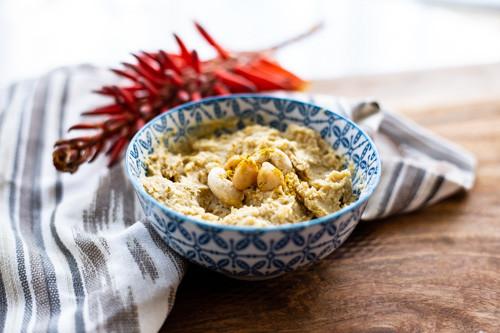 Thermomix Kichererbsen-Curry-Aufstrich