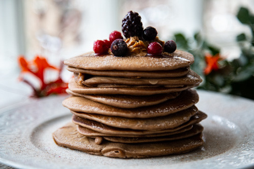Thermomix Pancakes von vorne
