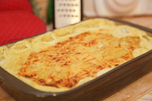 Pampered Chef Kartoffelauflauf