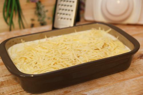 Pampered Chef Kartoffeln in Ofenhexe mit Käse
