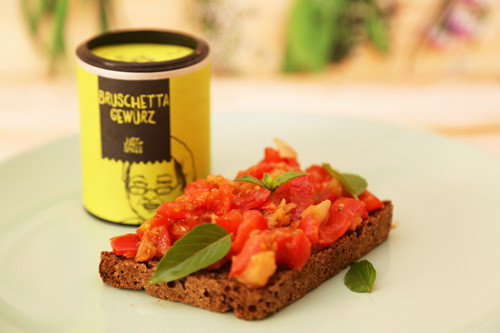 Thermomix Bruschetta Just Spices