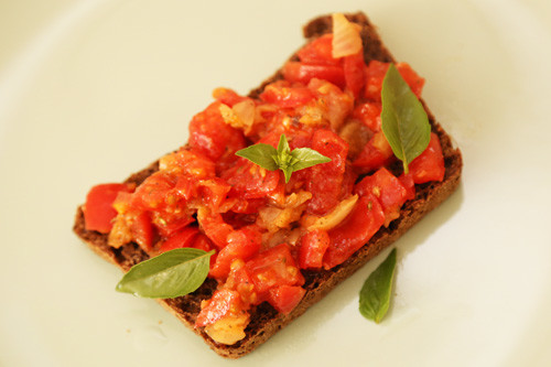 Thermomix Bruschetta