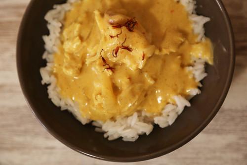 Thermomix Hähnchen-Curry mit Cashewkernen