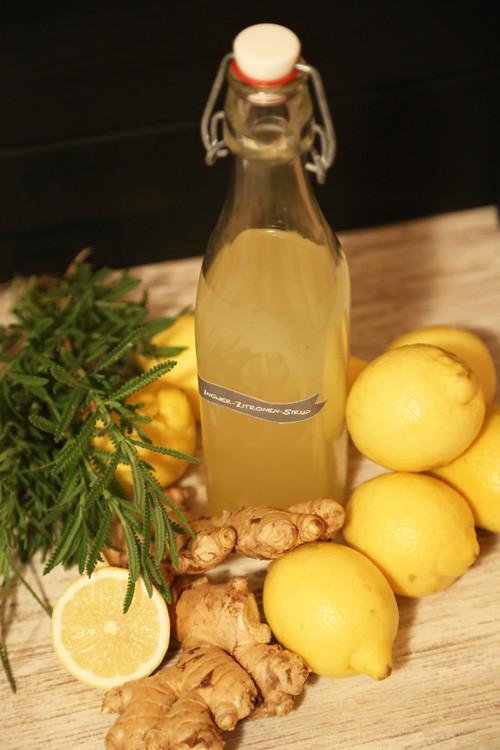 Thermomix Ingwer-Zitronen-Sirup