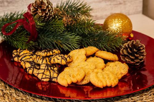 Pampered Chef Plätzchenpresse Kürbis-Kekse