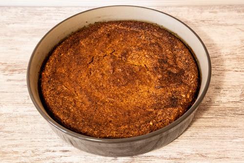 Pampered Chef Kürbiskuchen fertiger Teig