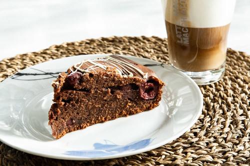 Schoko Kirsch Kuchen In Der Runden Stoneware Von Pampered Chef
