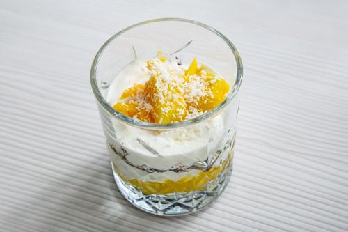 Thermomix Mango-Schicht-Dessert