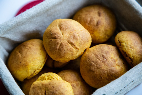 Pampered Chef Süßkartoffelbrötchen